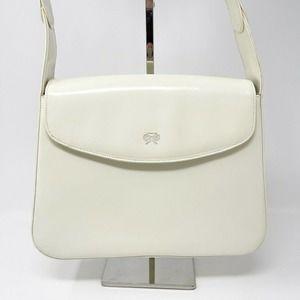 ANYA HINDMARCH White Patent Handbag